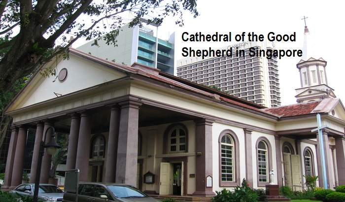 Cathedral of the Good Shepherd in Singapore
