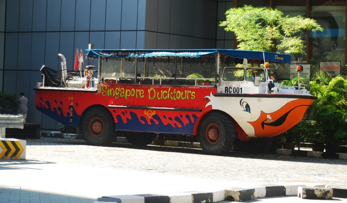 Duck Tour in Singapore