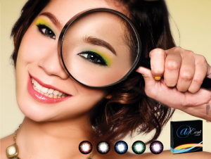 Softlens Coloured Axcent