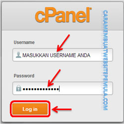 Login ke Cpanel Web Hosting