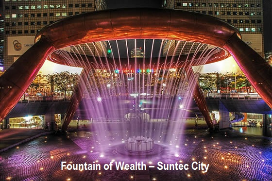 Fountain of Wealth – Suntec City