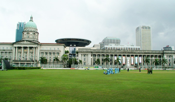 Singapore Cricket Club di Singapura