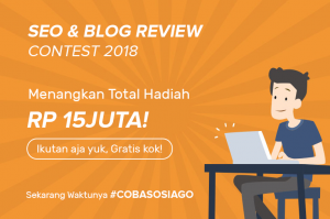 Kontes Seo Coba SOSIAGO Influencer Marketing
